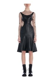 Leather And Moon Hybrid Dress