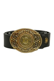Gold V-Logo Belt