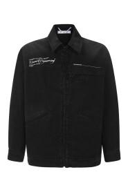 Zip through jacket