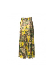 LONG CAMOUFLAGE SKIRT
