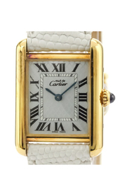 Pre-owned Must Tank Quartz Gold Plated Dress Watch W1018587