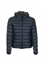 CONCRETE - Sporty down jacket with hood