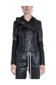 Larry Leather Biker Jacket