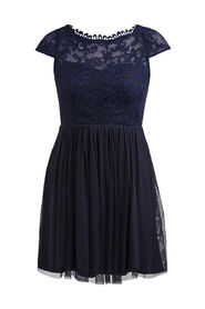 Vila Viulricana short dress darkblue