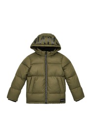 CALVIN KLEIN IB0IB00249 ESSENTIAL PUFFER JACKET AND JACKETS Unisex Boys GREEN