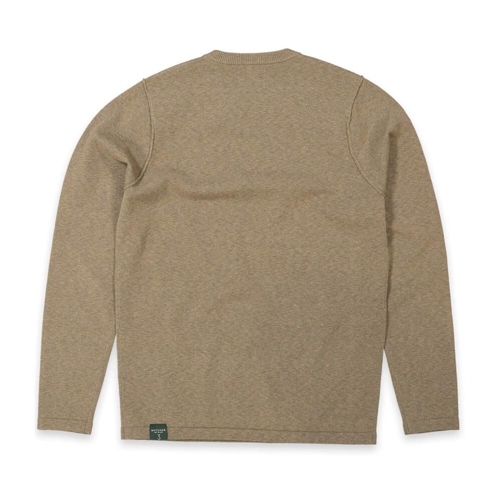 Beige Sweatshirt 1926003 | Butcher of Blue | Hoodies  sweatvesten | Heren winter kleren