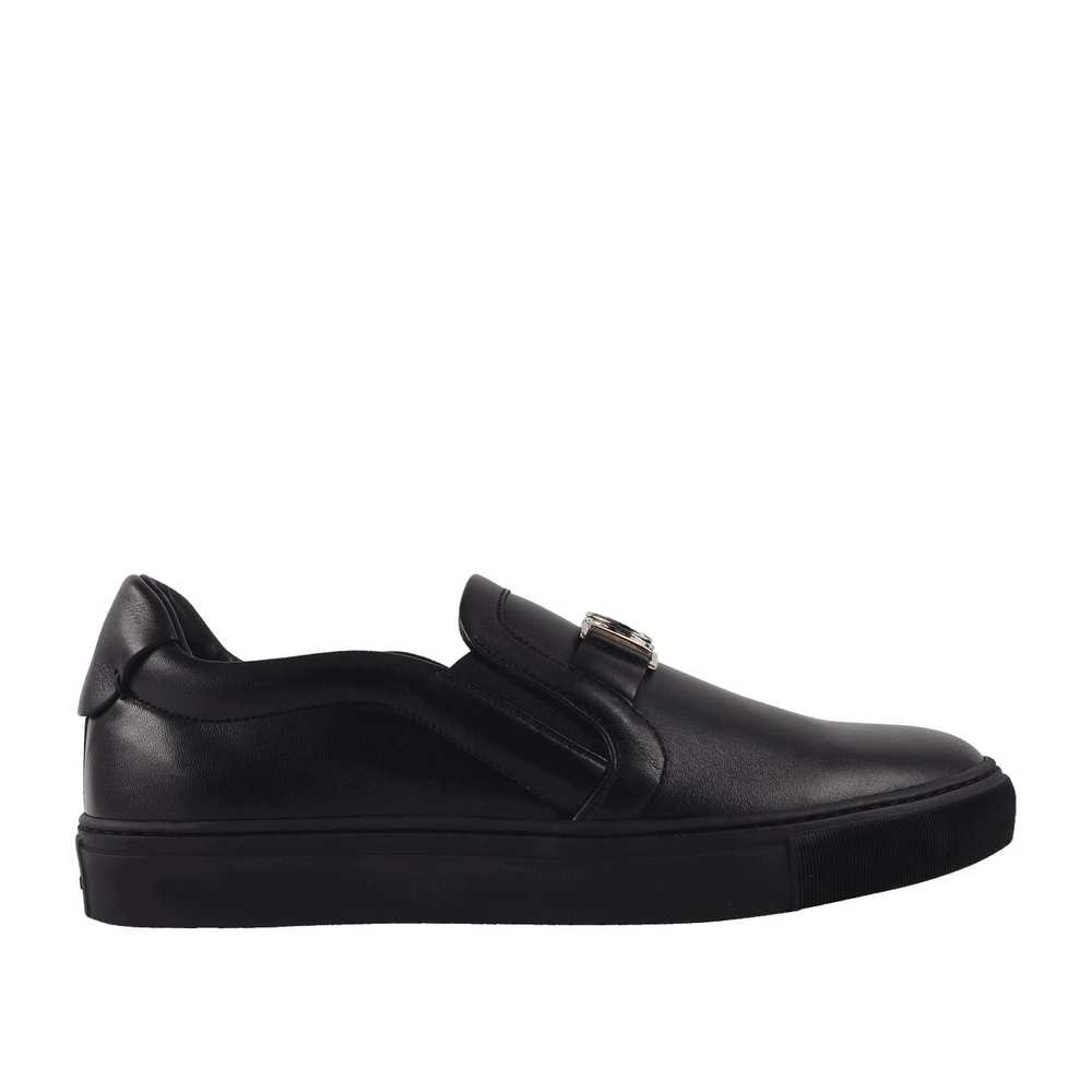Läder Slip-on Trainer