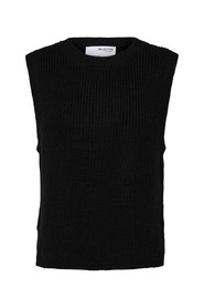 Tay knit vest o-neck