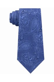 Neck Tie  Thinly Outlined Paisley Classic