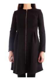 FRACOMINA FR19FM726 Overcoat Women BLACK