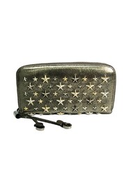 FILIPA GTA ANTHRACITE Leather Studded Long Wallet (to ganger)