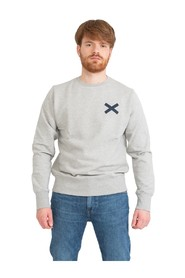 Light gray cross sweatshirt