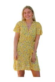 Milly Wrap Dress Short Light