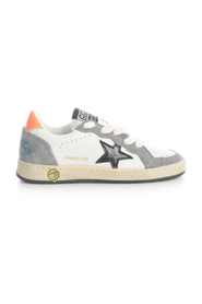 BALL STAR Cholewka SHINY STAR LEATHER SUEDE HEEL