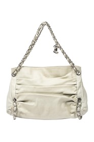 Multi Pleated Chain Shoulder Bag