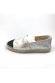 CC Leather Espadrille