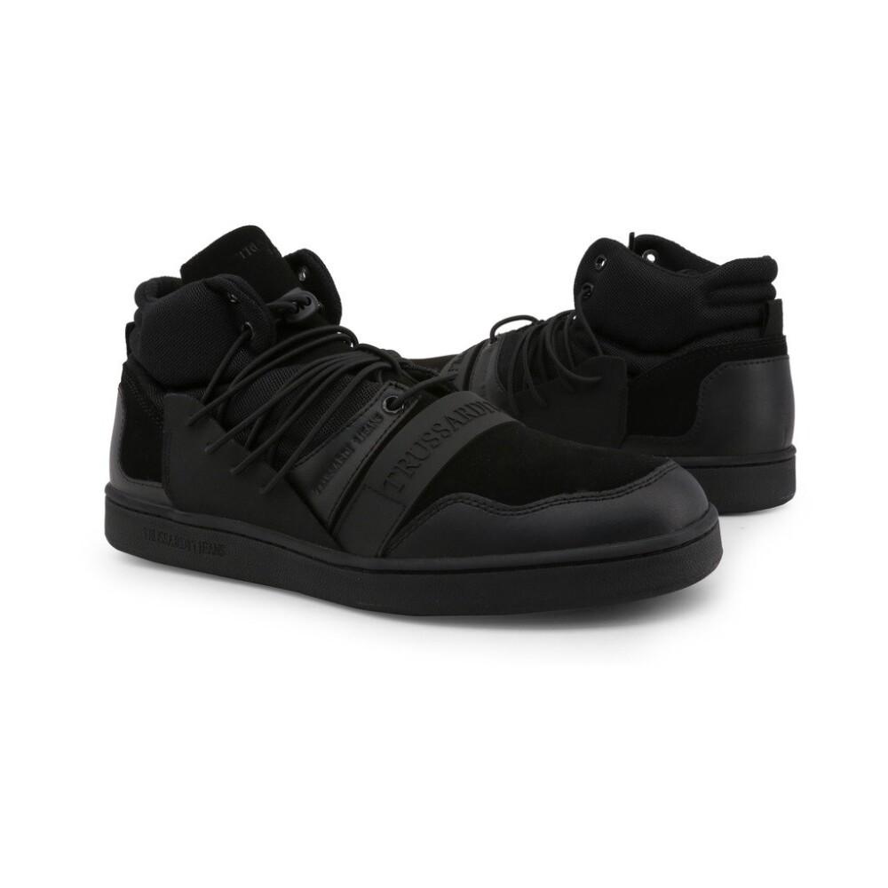 Black Sneakers 77A00099 | Trussardi | Sneakers | Herenschoenen