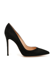 Suede 105 pumps