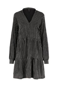 Smock dress Textured striped