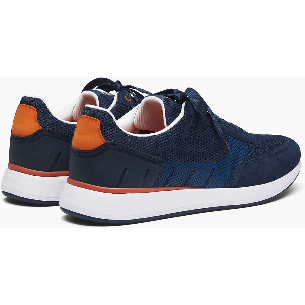 Navy Breeze Wave Athletic Sko