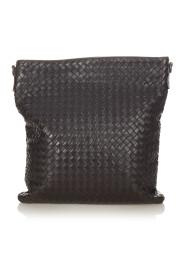 Pre-owned Intrecciato Leather Crossbody Bag