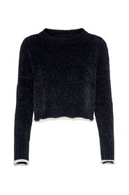 Knitted Pullover Cropped