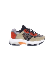 Sneaker Beige / Orange / Zwart Bronx 66167-C