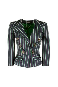 Jacket with pinstripes