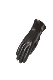 Dames handschoen in lamsvel met drie deuken
