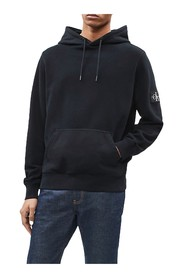 CALVIN KLEIN JEANS J30J314036 BADGE HOODIE SWEATER Men BLACK