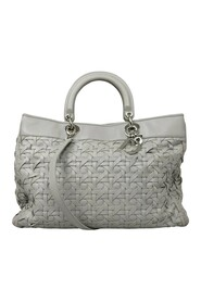 Woven Lady Dior Avenue Leather Satchel