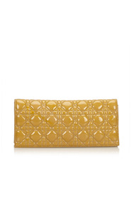 Cannage Chain Clutch Bag