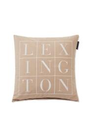 Logo Cotton Pillow Cover