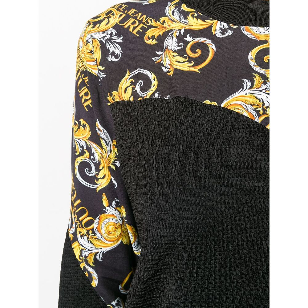 Versace Jeans Couture Black Sweater Versace Jeans Couture