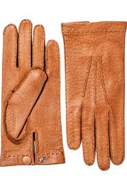 Peccary Unlined Palm Button Kork Skinnhansker