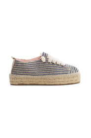 RAFFIA STRIPES SNEAKERS