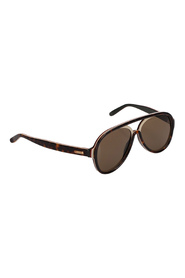 Pre-owned Aviator Tinted Sunglasses
