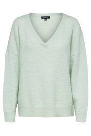 Knitted Pullover Mohair mix
