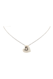 Shell Heart Logo Necklace