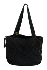 Pre-owned CC Suede Tote