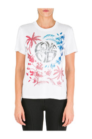 women's t-shirt short sleeve crew neck round love me wild