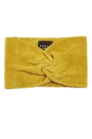 Shimmer chenille head band