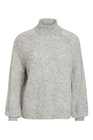 Highneck Knit Pullover