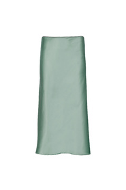 Satin Skirt Khaki - 1