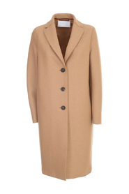 OVERCOAT PRESSED WOOL AND POLAIRE