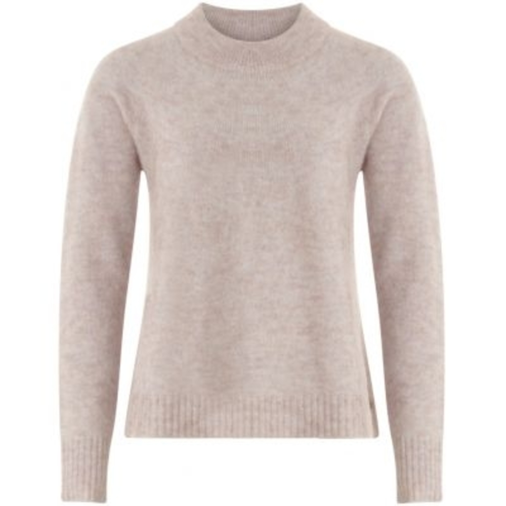 Sweater in crystal mohair