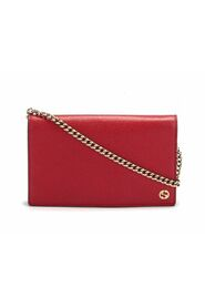 Pre-owned Medium Betty Leather Wallet on CHain in calfskin leather