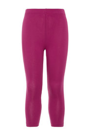 Leggings solid farget capri
