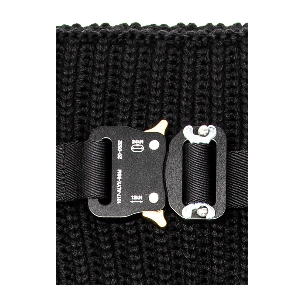 Black Tube scarf with strap | 1017 ALYX  9SM | Sjaals | Heren accessoires