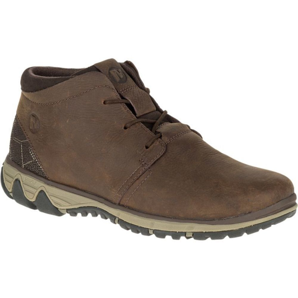 Brun Merrell All Out Blazer Chukka North Sko